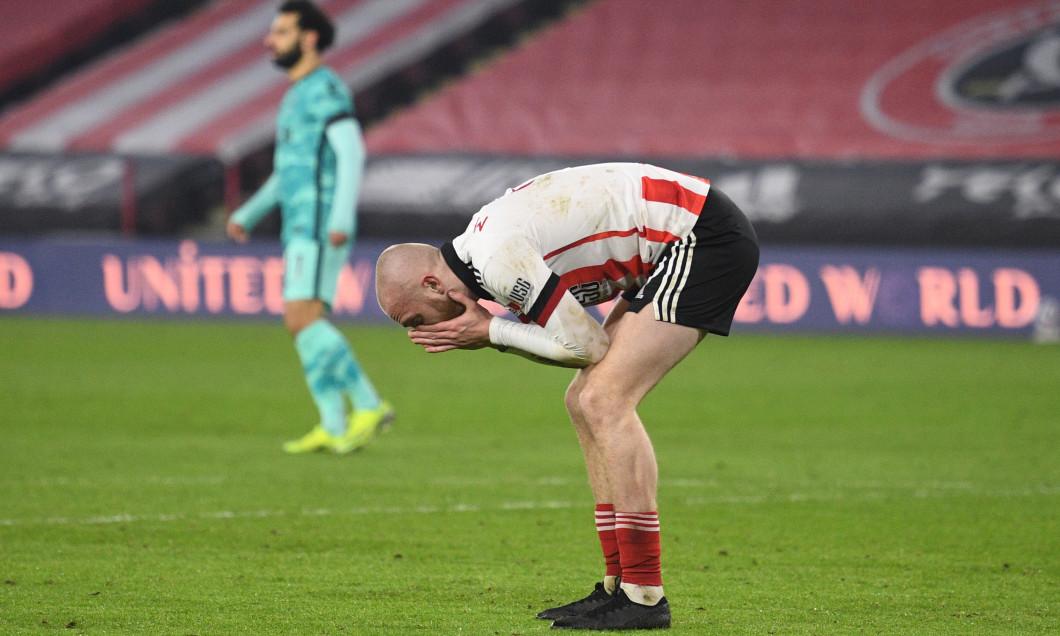 Oliver McBurnie, atacantul lui Sheffield United / Foto: Getty Images