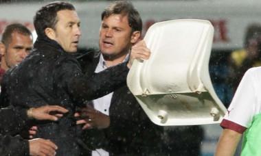 Mihai Stoica, pe stadionul Giulești, la un meci Rapid - FCSB / Foto: Sport Pictures