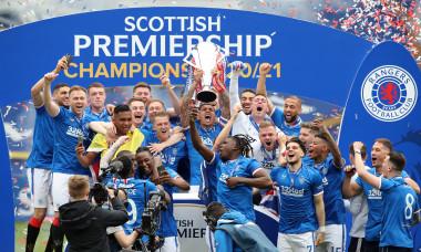 Rangers a câștigat titlul cu numărul 55 / Foto: Getty Images