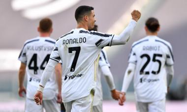Cristiano Ronaldo, după golul marcat în meciul cu Inter / Foto: Getty Images