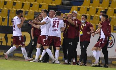 Fotbaliștii de la Rapid, în meciul cu Dunărea Călărași / Foto: Sport Pictures