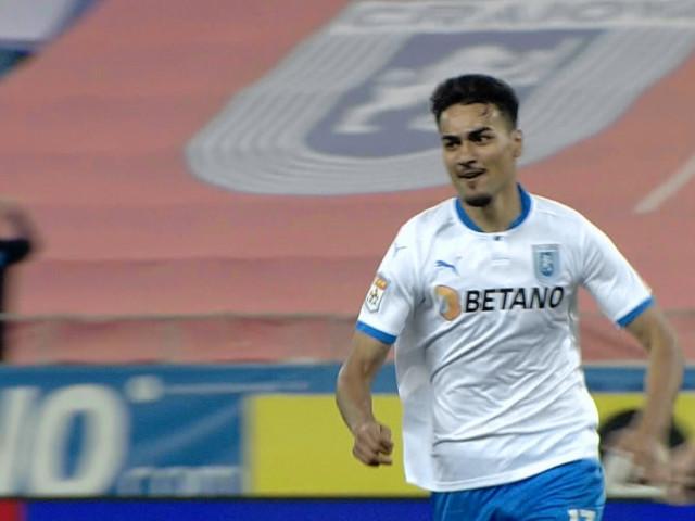 Candidat la golul sezonului! Ștefan Baiaram, execuție imparabilă în Universitatea Craiova - CFR Cluj