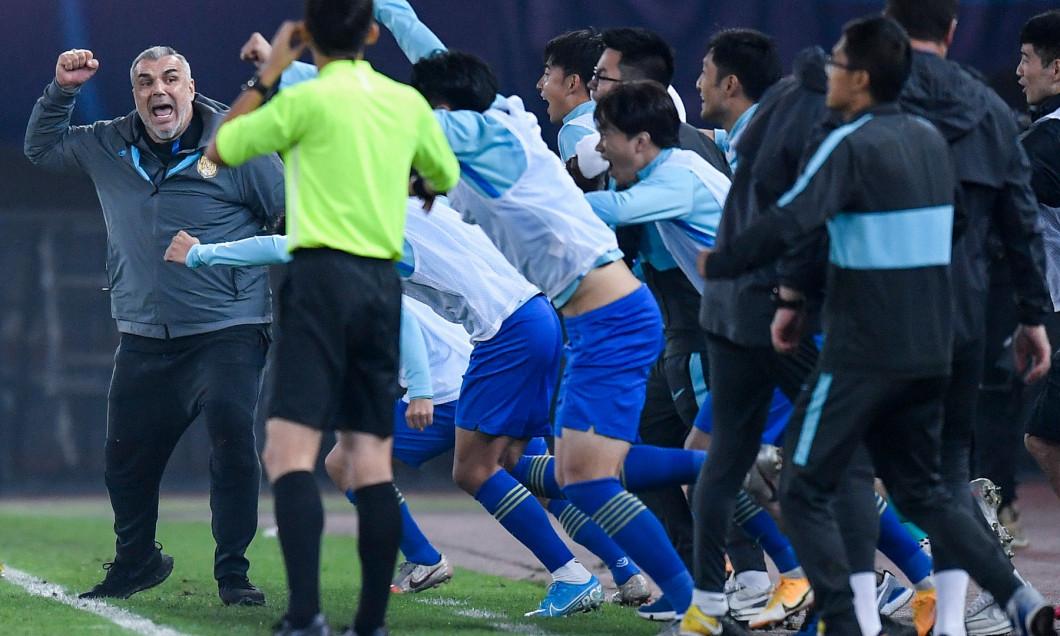 (SP)CHINA JIANGSU SUZHOU FOOTBALL CSL JIANGSU SUNING VS SHANGHAI SIPG (CN)