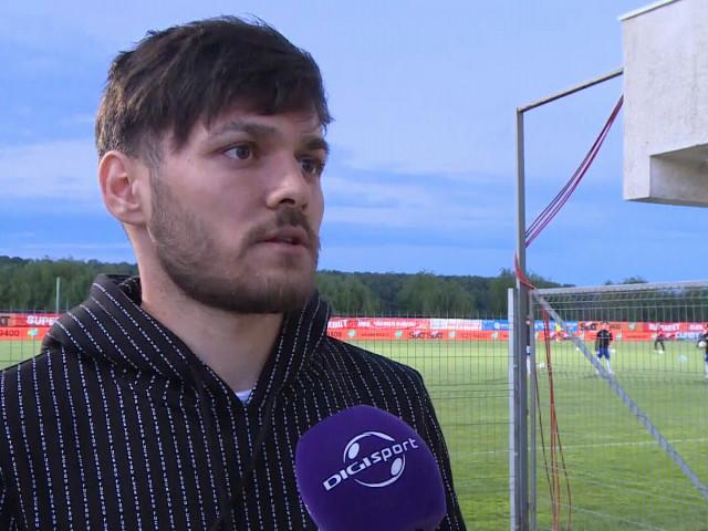 """Alexandru Ioniță, primele declarații după suspendare! """"Nu știu dacă Rapid e o variantă!"""" Ce antrenor personal și-a luat"""