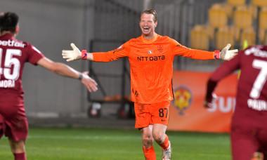 Giedrius Arlauskis, portarul lui CFR Cluj / Foto: Sport Pictures