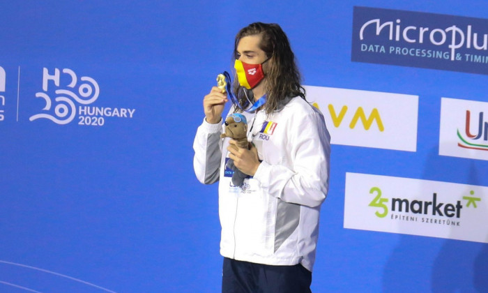 LEN European Swimming Championships, Budapest, Hungary - 20 May 2021