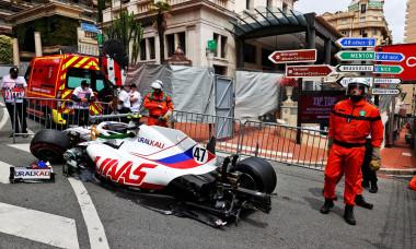 Monaco Grand Prix - Qualifying - Monte Carlo