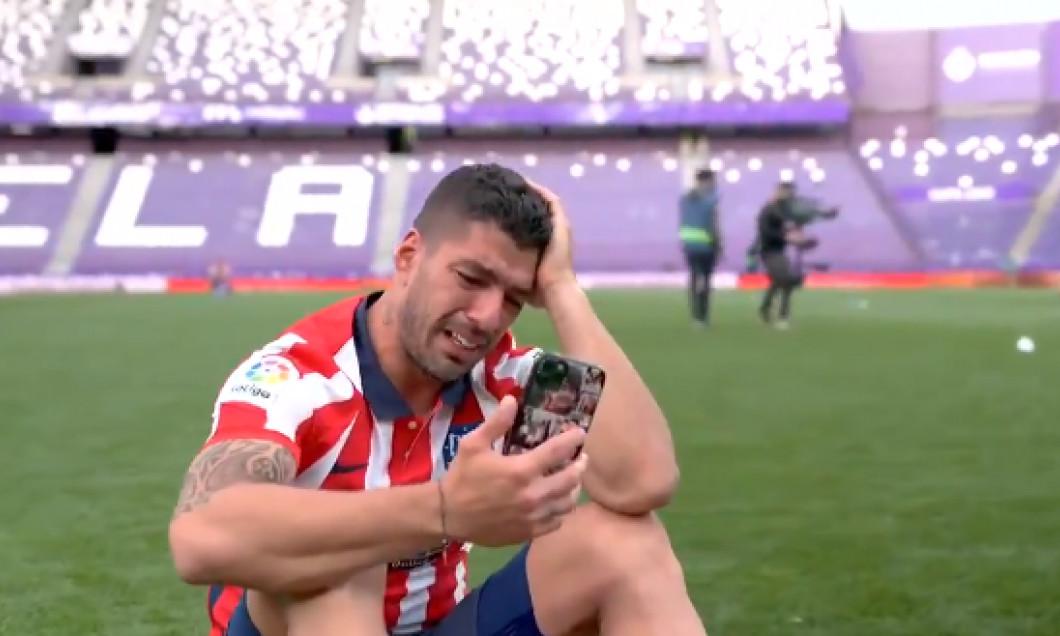 Luis Suarez, atacantul lui Atletico Madrid / Foto: Captură Twitter@LaLiga