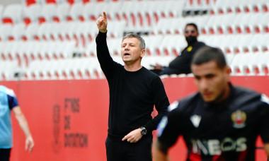 L'OGC Nice bat l'équipe de Brest (3-2) ŕ l'issue du match de Ligue 1 Uber Eats ŕ Nice