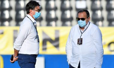 Zoltan Iasko și Cristian Bivolaru, înaintea unui meci Viitorul - Academica Clinceni / Foto: Sport Pictures