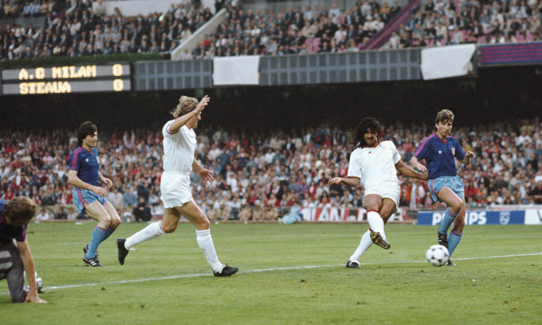1989 European Cup Final AC Milan v Steaua Bucharest