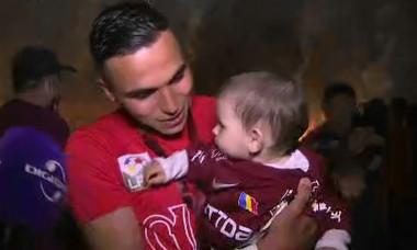 Cristi Manea, după victoria cu FCSB / Foto: Captură Digi Sport