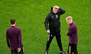 Villareal CF vs Manchester United, UEFA Europa League Final, Training session, Gdansk, Poland - 25 May 2021