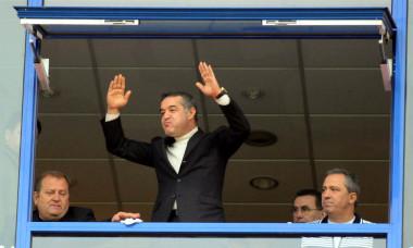 Gigi Becali, în loja stadionului din Ghencea / Foto: Sport Pictures