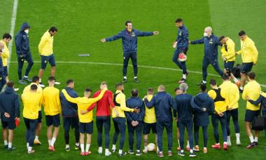 Villarreal CF Training Session and Press Conference - UEFA Europa League Final 2021