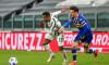 Alex Sandro și Dennis Man, într-un meci Juventus - Parma / Foto: Profimedia
