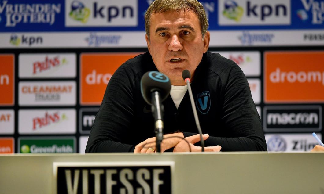 Netherlands: training before Vitesse - Viitorul, press conference, training