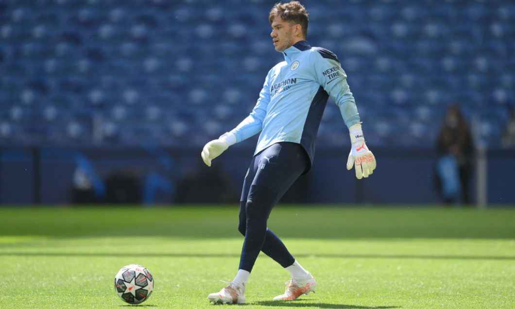 Manchester City FC Training Session and Press Conference - UEFA Champions League Final 2021