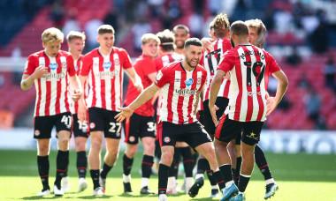 Brentford v Swansea City, EFL Sky Bet Championship, Playoffs, Final, Football, Wembley Stadium, London, UK - 29 May 2021