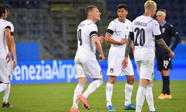 Italy v San Marino, European Qualifiers friendly, Sardegna Arena, Sardinia, Italy - 28 May 2021