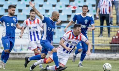 FOTBAL:FC OTELUL GALATI-DACIA UNIREA BRAILA, BARAJ DE PROMOVARE IN LIGA A 2-A (22.05.2021)