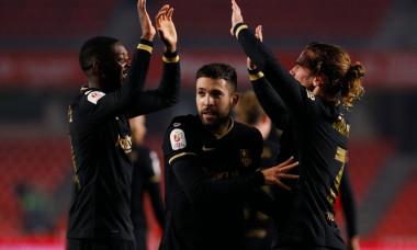 Granada CF v FC Barcelona, Copa del Rey, Football, Nuevo Los Carmenes Stadium, Granada, Spain - 03 Feb 2021