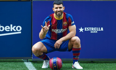 New Signing: Kun Aguero New FC Barcelona Player, Spain - 31 May 2021
