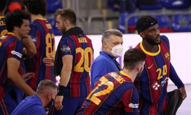 FC Barcelona v HC Meshkov Brest - EHF Champions League, Spain - 20 May 2020