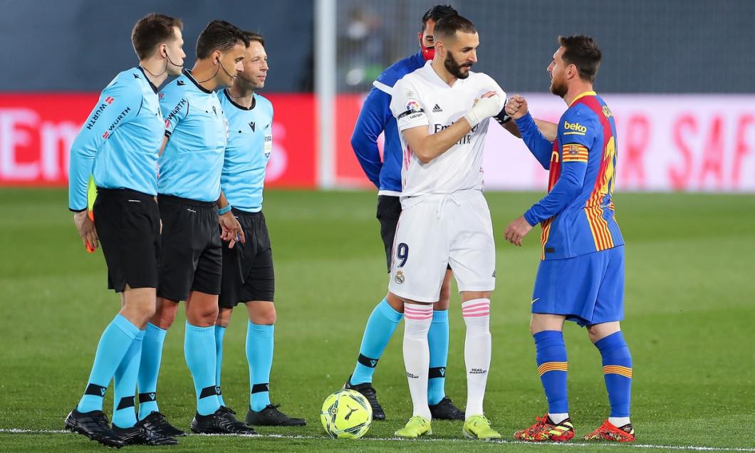 (SP)SPAIN MADRID FOOTBALL SPANISH LEAGUE REAL MADRID VS FC BARCELONA