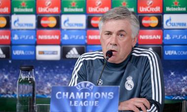 Conferenza Real Madrid - Uefa Champions League
