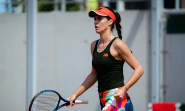 Sorana Cîrstea, în meciul cu Martina Trevisan de la Roland Garros / Foto: Profimedia