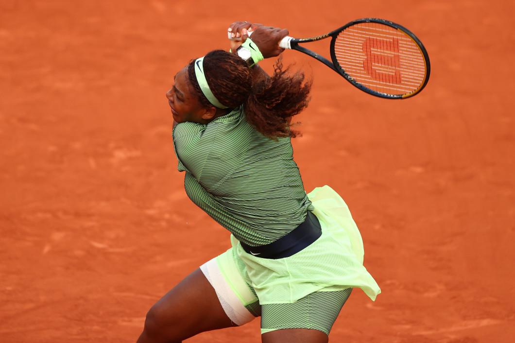 Serena Williams, în meciul cu Mihaela Buzărnescu / Foto: Getty Images