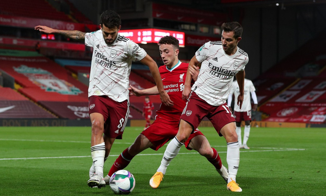 Liverpool v Arsenal - Carabao Cup - Fourth Round - Anfield