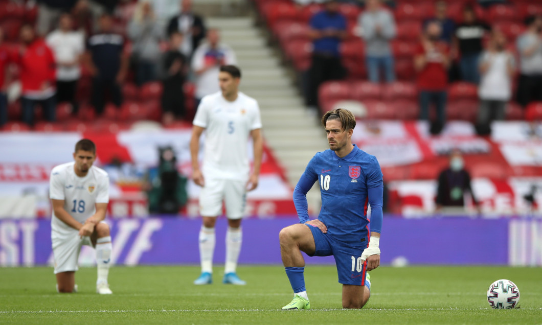 Jack Grealish, înaintea meciului Anglia - România / Foto: Getty Images