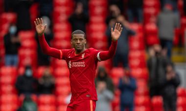 Georginio Wijnaldum, în tricoul lui Liverpool / Foto: Profimedia