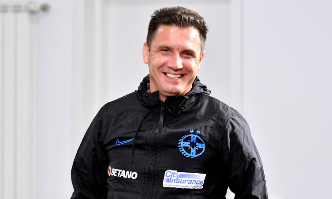 Narcis Răducan, în perioada în care era director sportiv la FCSB / Foto: Sport Pictures