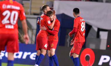 Octavian Popescu, în meciul FCSB - Sepsi / Foto: Sport Pictures