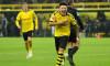 Jadon Sancho, în tricoul Borussiei Dortmund / Foto: Getty Images
