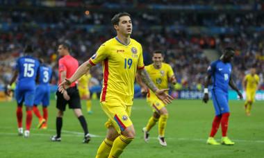 Bogdan Stancu, după golul marcat în Franța - România de la Euro 2016 / Foto: Profimedia