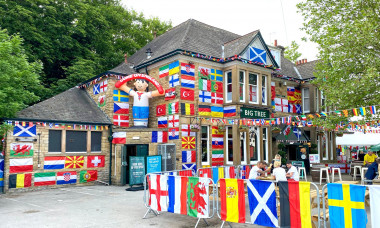 EXCLUSIVE: It's Coming Home! Euro Fever Takes Over Pub In Sheffield