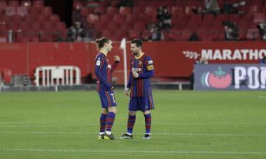 Soccer 2021- Sevilla FC vs FC Barcelona