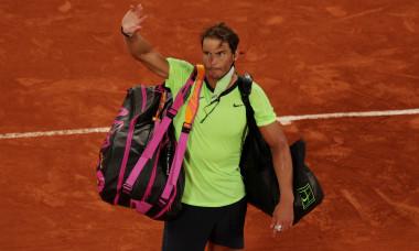 Rafael Nadal, după meciul cu Novak Djokovic / Foto: Getty Images