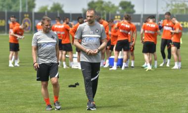 Dinu Todoran, antrenorul principal de la FCSB / Foto: Facebook@FCSBOfficial