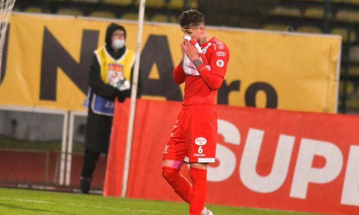 Alexandru Albu, în tricoul echipei UTA Arad / Foto: Sport Pictures