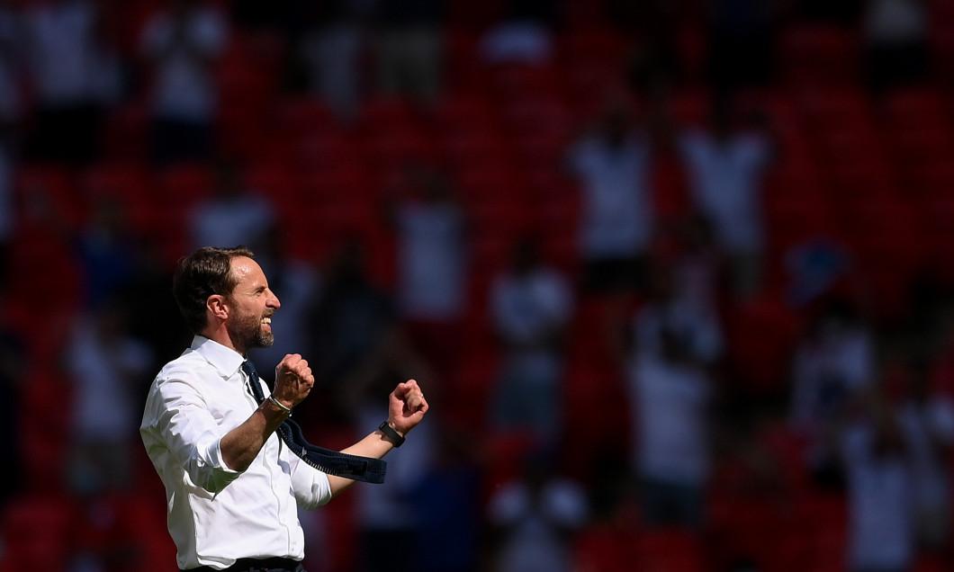 Gareth Southgate, selecționerul Angliei, după succesul cu Croația / Foto: Getty Images