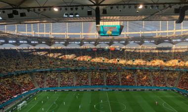 Arena Națională, la Austria - Macedonia de Nord / Foto: Digi Sport