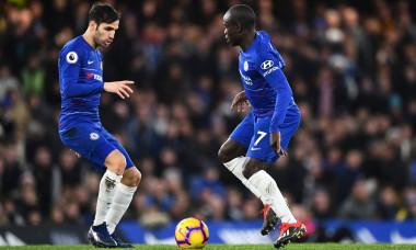 Chelsea v Leicester City, Premier League, Football, Stamford Bridge, London, UK - 22 Dec 2018