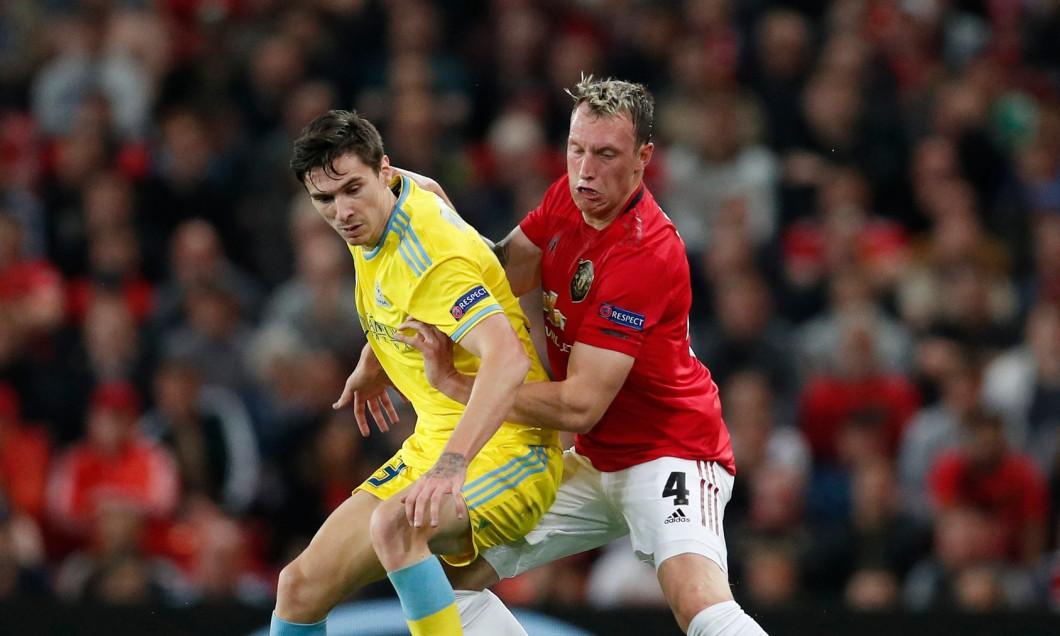 Manchester United v FC Astana - UEFA Europa League - Group L - Old Trafford