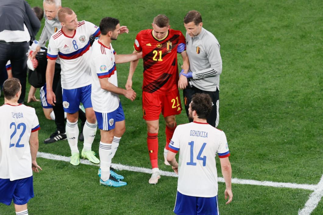 RUSSIA: EURO2020 D1 GROUP B RUSSIA VS BELGIUM