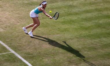 Sorana Cîrstea, în meciul cu Garbine Muguruza de la WTA Berlin / Foto: Getty Images